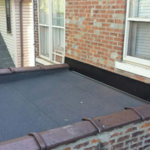 commercial roofing detail