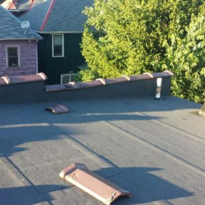 commercial roofing flat